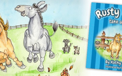 Children's story book Rusty & Roo Take A Tumble is now available